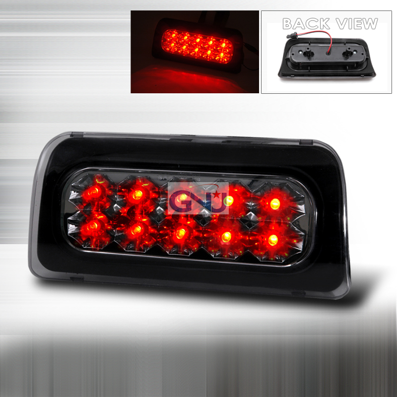 Chevrolet S10 Pickup 1998-2004 LED 3rd Brake Light - Smoke
