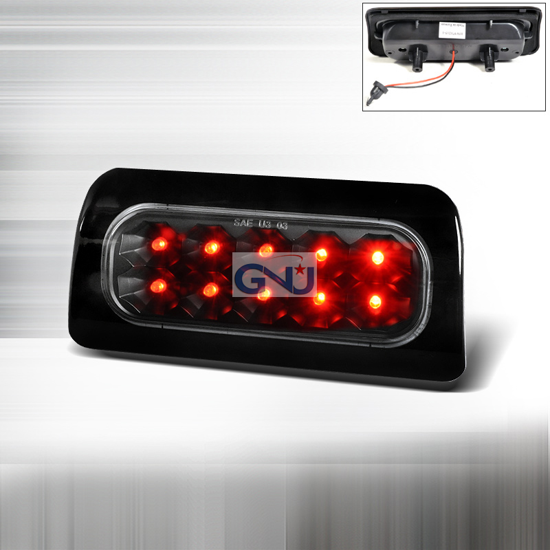 Chevrolet S10 Pickup 1998-2004 LED 3rd Brake Light - Black