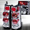 Gmc Savana Van  1996-2002 Chrome Euro Tail Lights