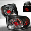 Nissan Sentra  2004-2006 Chrome LED Tail Lights