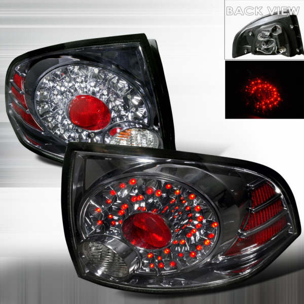 Nissan Sentra  2004-2006 Smoke LED Tail Lights