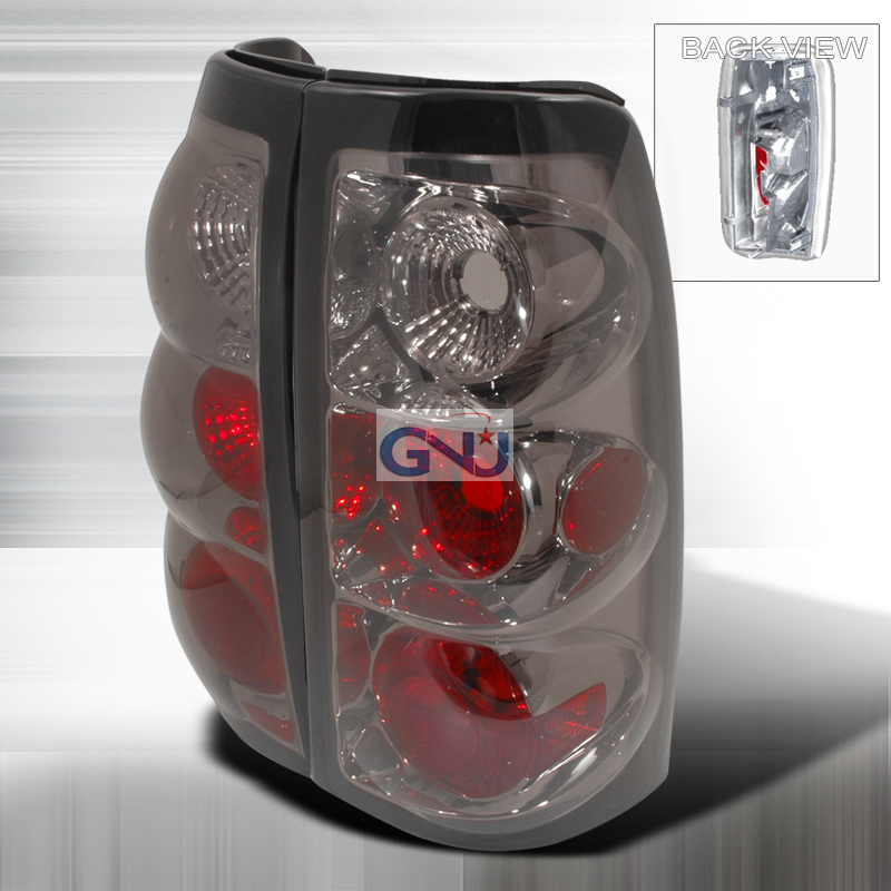 Chevrolet Silverado  2003-2006 Smoke Euro Tail Lights