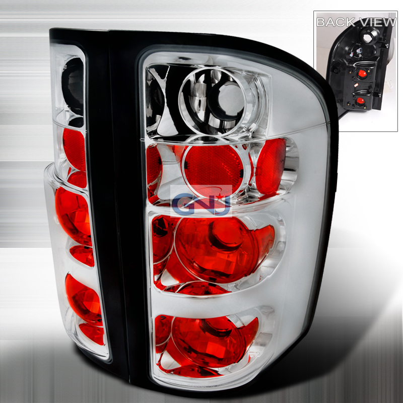 Chevrolet Silverado  2007-2011 Chrome Euro Tail Lights
