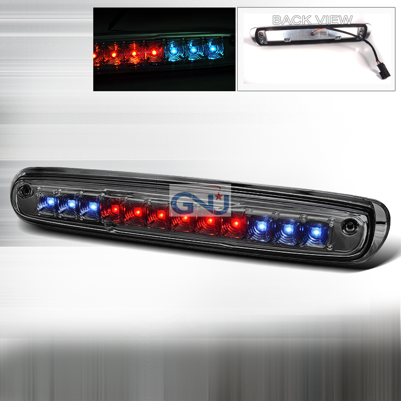 Chevrolet Silverado 2007-2010 LED 3rd Brake Light - Smoke