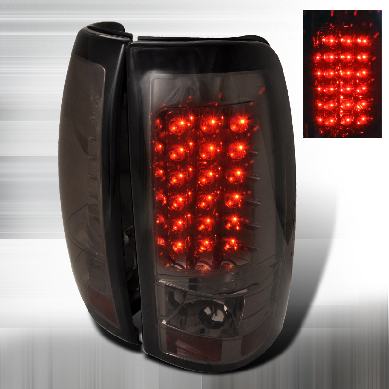 Chevrolet Silverado  1999-2002 Smoke LED Tail Lights