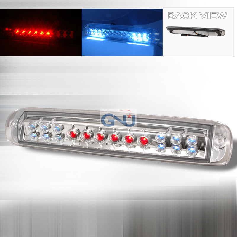 Chevrolet Silverado 1999-2005 LED 3rd Brake Light - Chrome