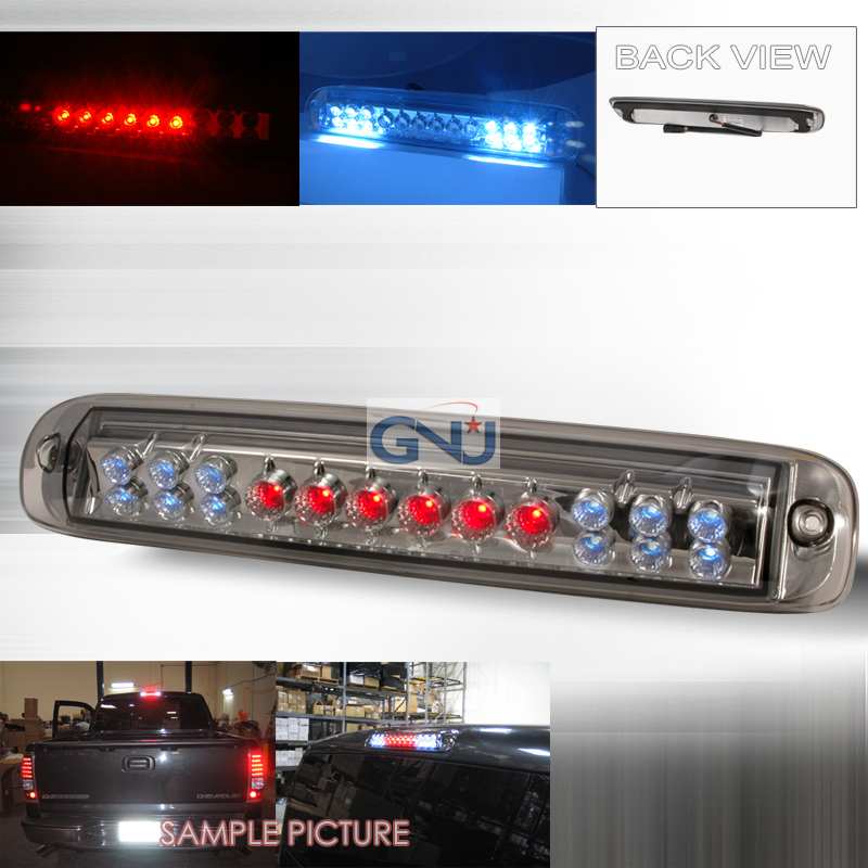 Chevrolet Silverado 1999-2005 LED 3rd Brake Light - Smoke