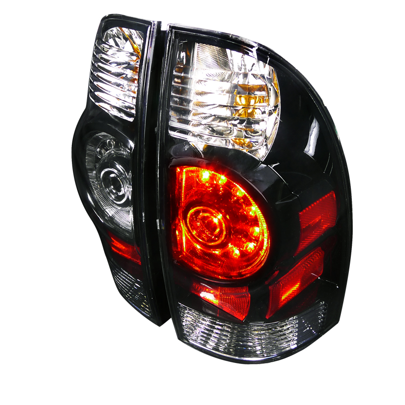 Toyota Tacoma  2005-2012 Black LED Tail Lights