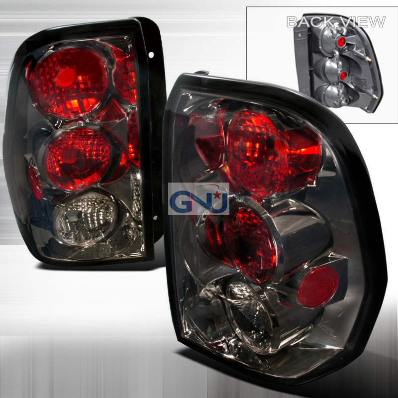 Chevrolet Trailblazer  2002-2009 Smoke Euro Tail Lights