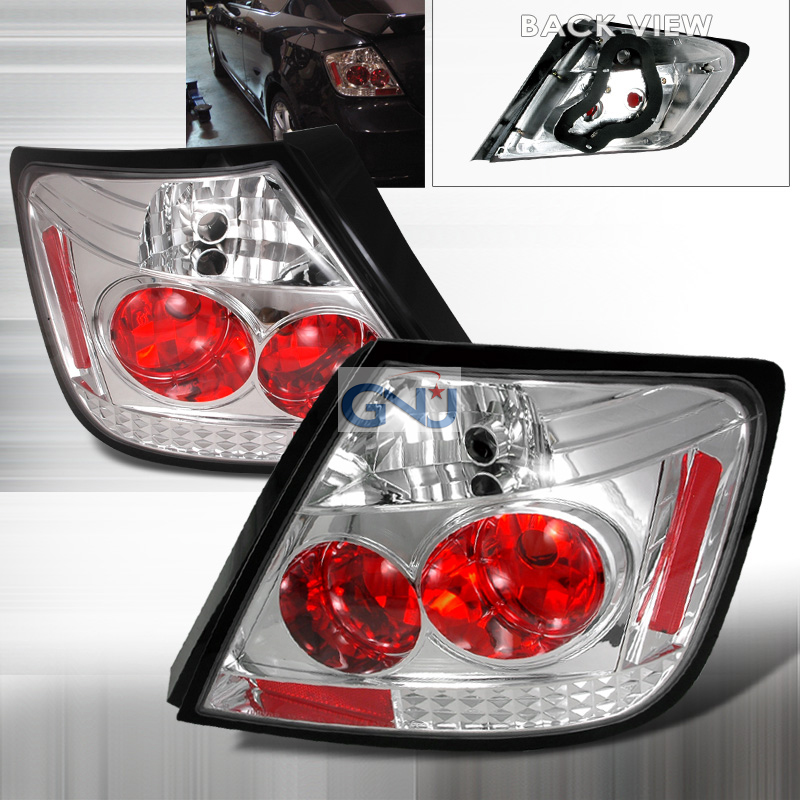 Scion TC  2005-2010 Chrome Euro Tail Lights