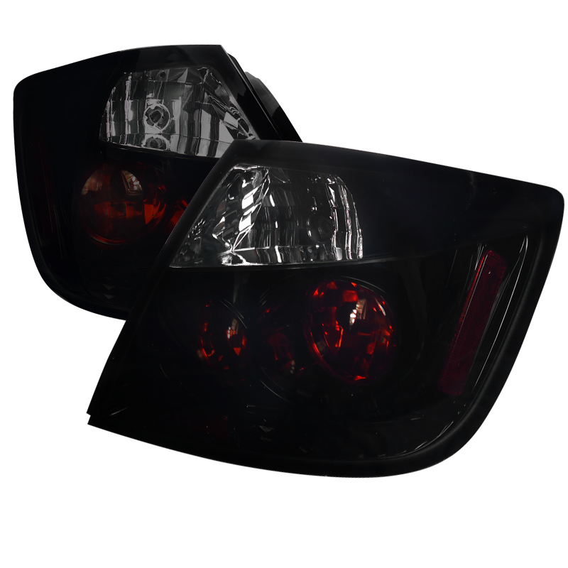 Scion TC  2005-2010 Glossy Black W/ Smoke Lens Euro Tail Lights