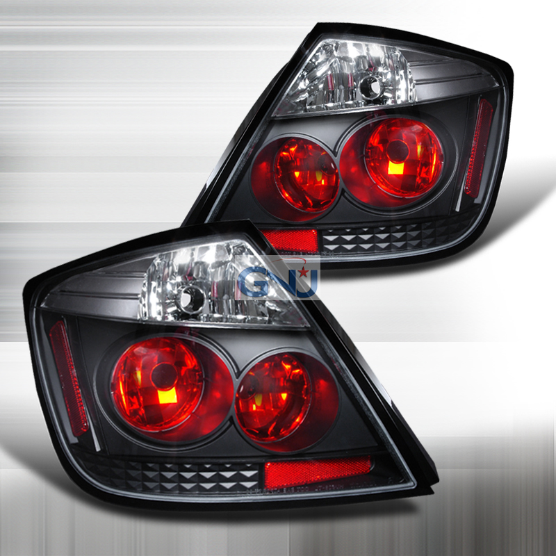 Scion TC  2005-2010 Black Euro Tail Lights