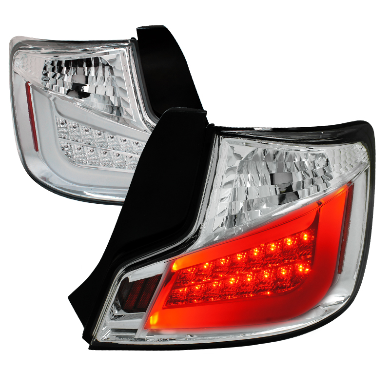 chrome led tail lights view all scion tc tail lights all scion tc. Black Bedroom Furniture Sets. Home Design Ideas