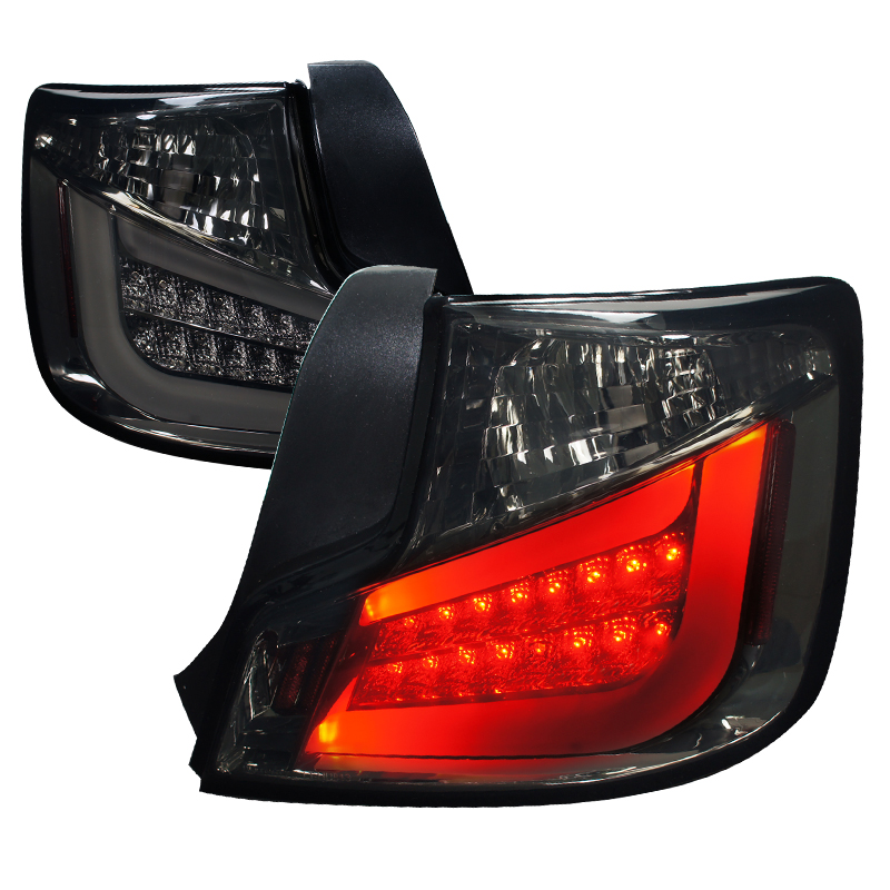 Scion TC  2011-2011 Smoke LED Tail Lights