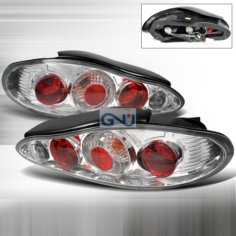 Hyundai Tiburon  1997-1999 Chrome Euro Tail Lights
