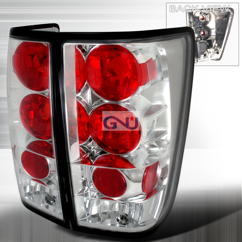 Nissan Titan  2004-2012 Chrome Euro Tail Lights