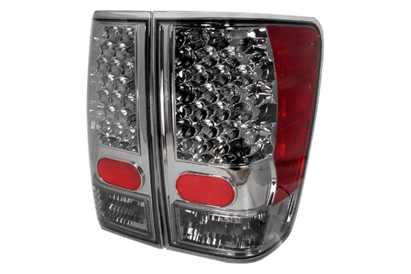 Nissan Titan  2004-2012 Smoke LED Tail Lights