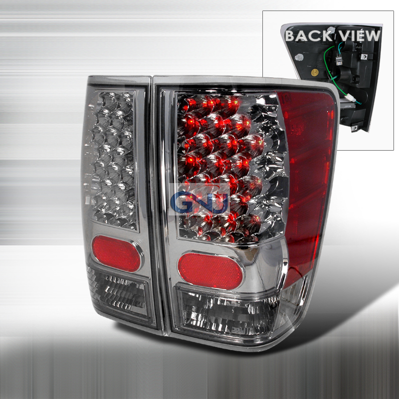 Nissan Titan 2004-2006 LED Tail Lights -  Smoke