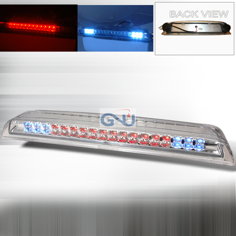 Nissan Titan 2004-2006 LED 3rd Brake Light - Chrome