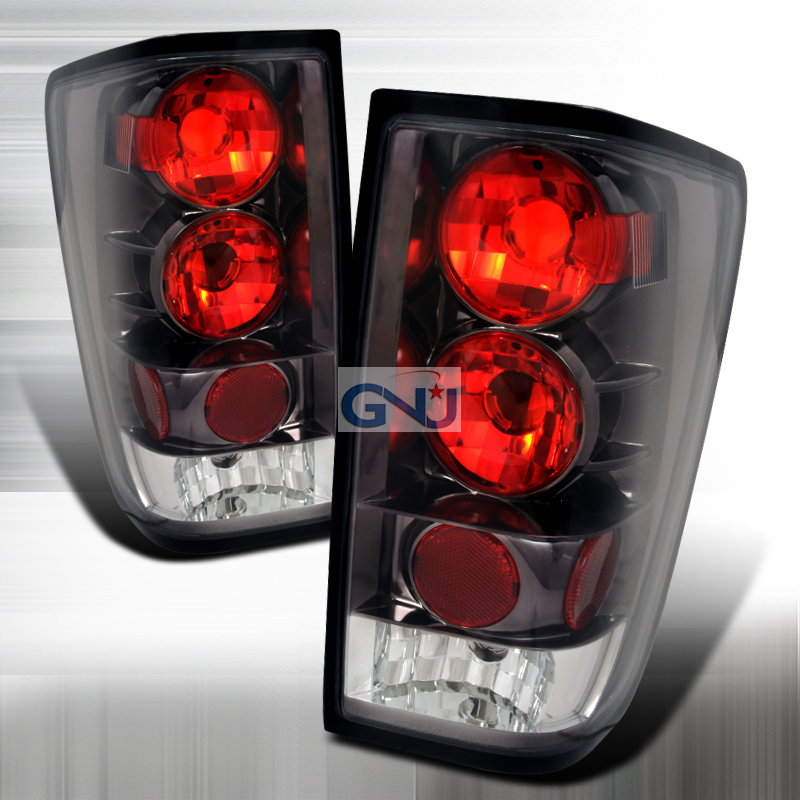 Nissan Titan   2004-2008 Euro Tail Lights - Chrome