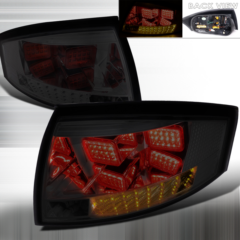 Audi TT  1999-2006 Smoke LED Tail Lights