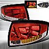 2000 Audi TT   Red LED Tail Lights
