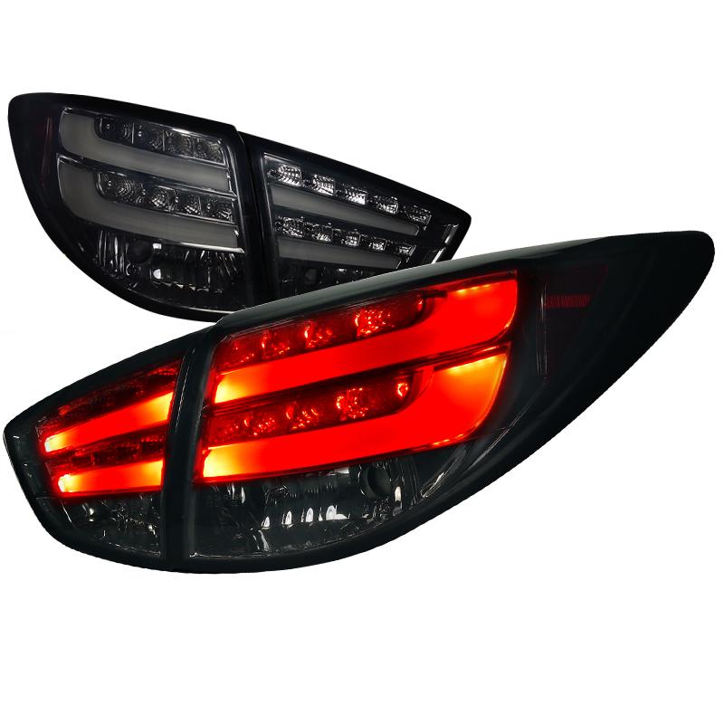Hyundai Tucson  2010-2012 Smoke LED Tail Lights