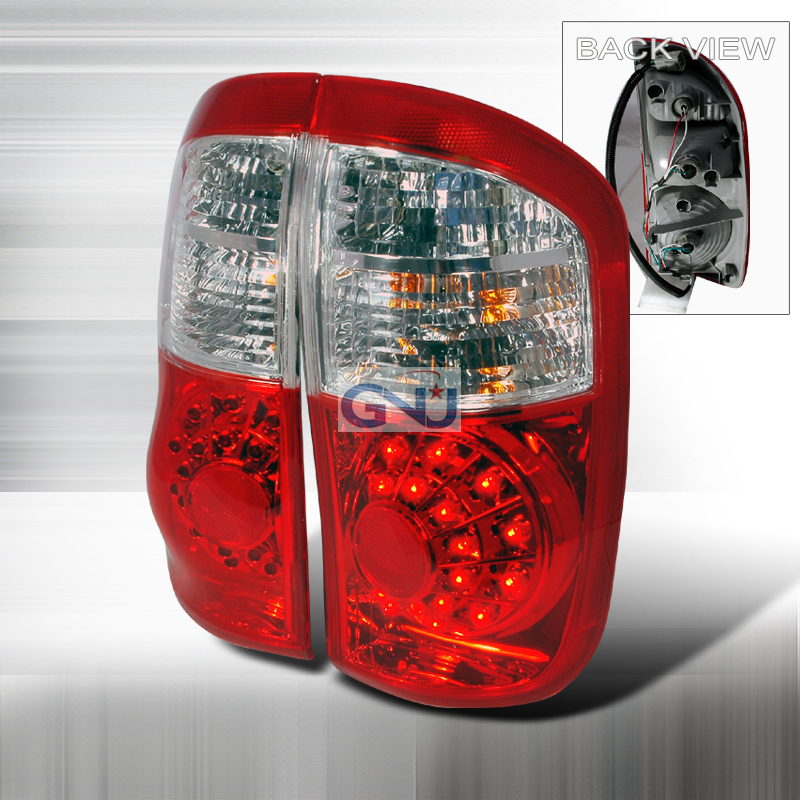 Toyota Tundra  2000-2006 Red LED Tail Lights