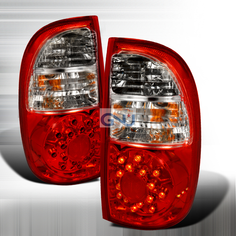 Toyota Tundra  2005-2006 Red LED Tail Lights