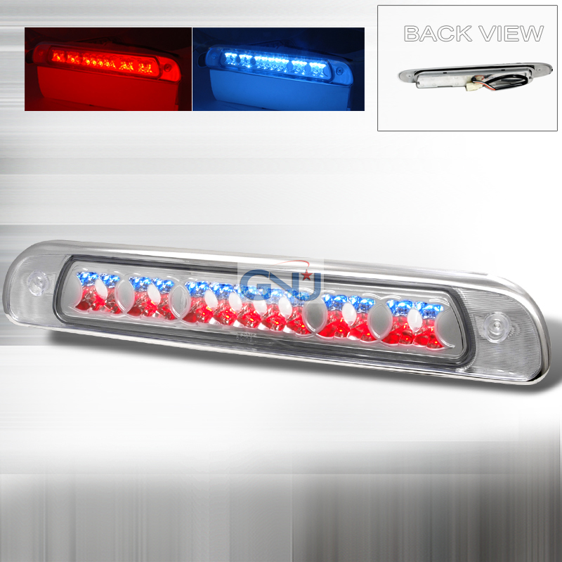Toyota Tundra 1999-2006 LED 3rd Brake Light - Chrome
