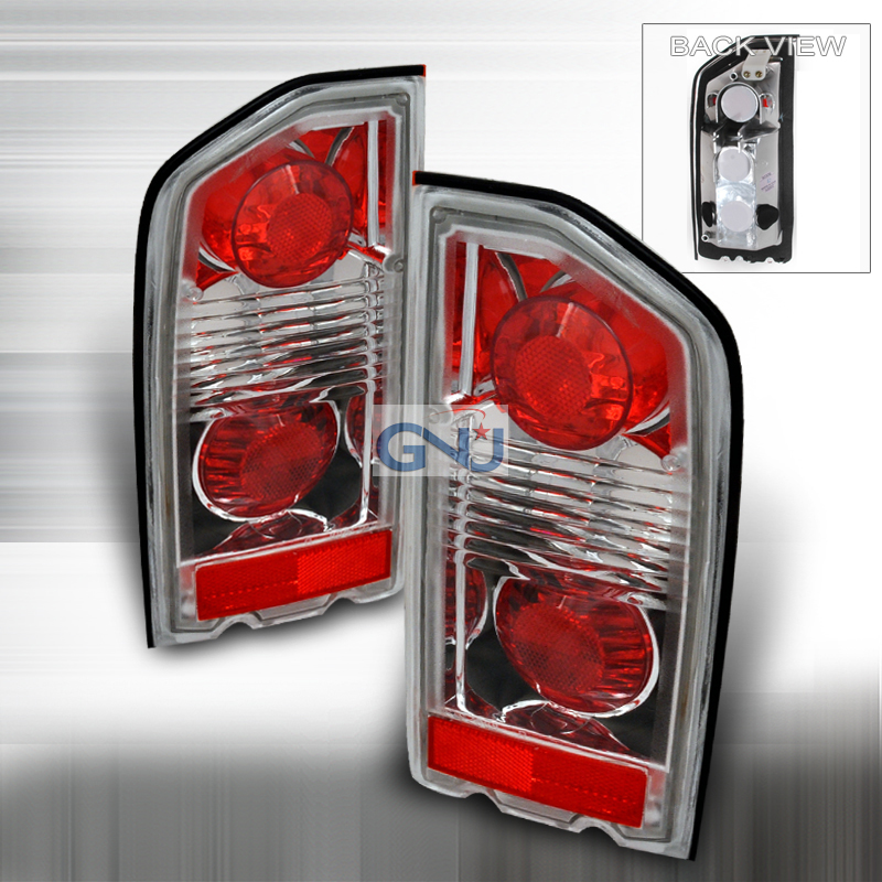 Suzuki Vitara   1988-1998 Euro Tail Lights - Chrome