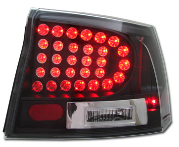 Dodge Charger 2005-2008 Black LED Tail Lights