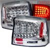 2005 Dodge Charger  Chrome LED Tail Lights