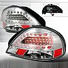 Pontiac Grand Am 1999-2005 Clear LED Tail Lights