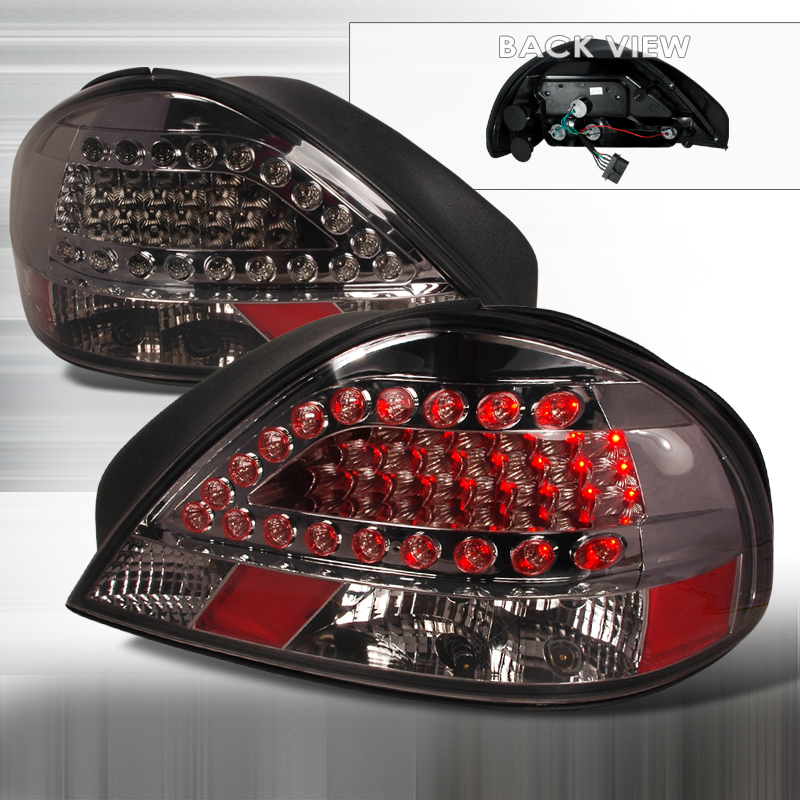 Pontiac Grand Am 1999-2005 Smoked LED Tail Lights