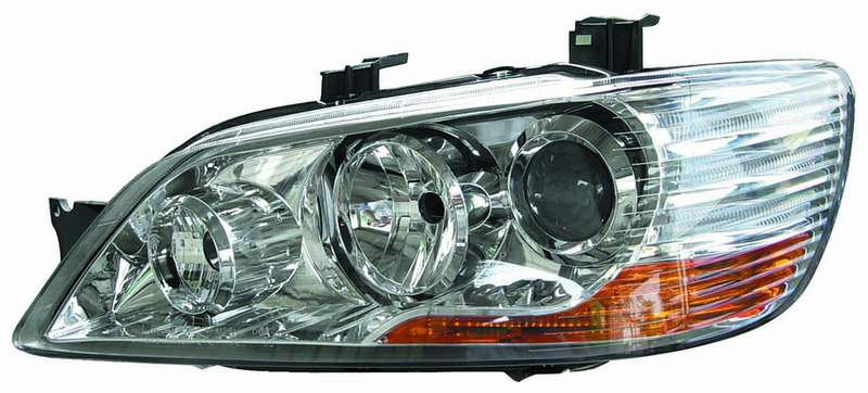 Mitsubishi Lancer 2002-2003 Chrome Projector Head Lights