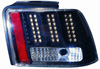 2000 Ford Mustang  Black LED Tail Lights