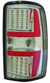 Chevrolet Tahoe 2001-2006 Chrome LED Taillights