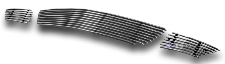 Mazda Mazda 3  2004-2006 Polished Lower Bumper Aluminum Billet Grille
