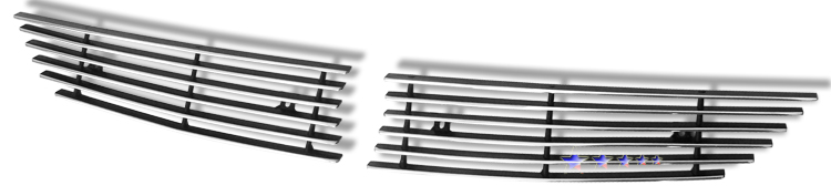 Mazda Cx-7  2007-2009 Polished Main Upper Aluminum Billet Grille