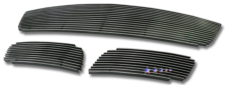 Mazda Cx-7  2007-2009 Polished Lower Bumper Aluminum Billet Grille