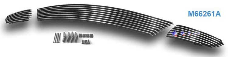 Mazda Mazda 6  2003-2005 Polished Lower Bumper Aluminum Billet Grille