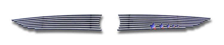 Mazda Cx-9  2007-2009 Polished Main Upper Aluminum Billet Grille