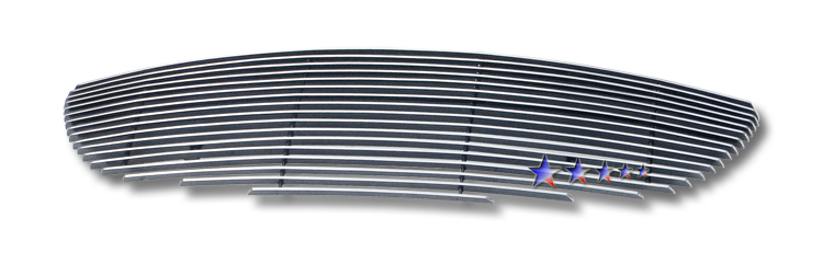 Mazda Mx-5 Miata 2009-2010 Polished Lower Bumper Aluminum Billet Grille