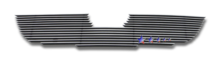 Mazda Tribute  2008-2012 Polished Main Upper Aluminum Billet Grille
