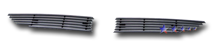 Mazda Cx-7  2010-2012 Polished Main Upper Aluminum Billet Grille