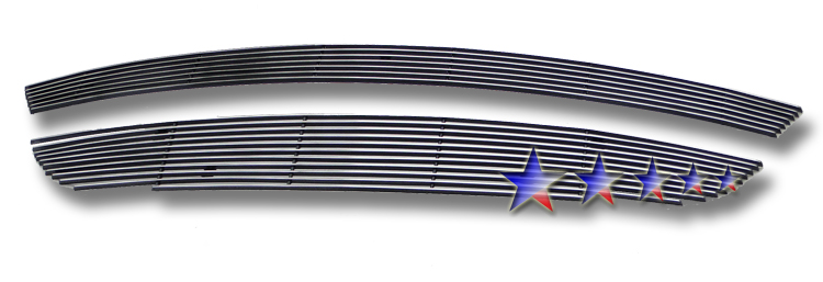 Mazda Cx-9  2010-2012 Polished Lower Bumper Aluminum Billet Grille