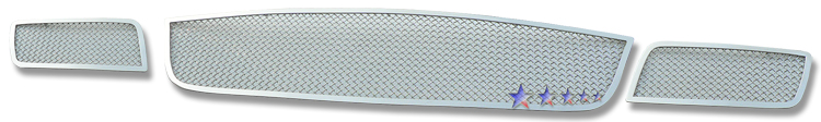 Mazda Cx-7  2007-2009 Chrome Lower Bumper Mesh Grille