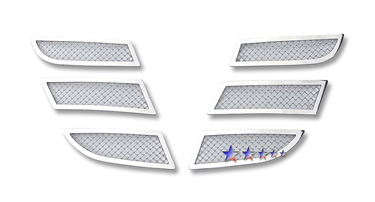 Mazda Cx-7  2010-2012 Chrome Lower Bumper Mesh Grille