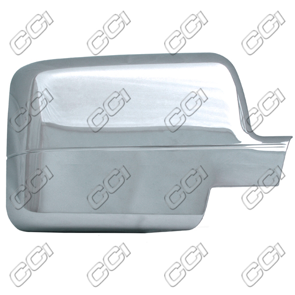 Ford F150  2004-2008, Half-Top Chrome Mirror Covers